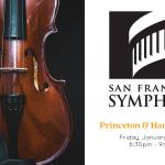 Princeton and Harvard Alumni at the SF Symphony